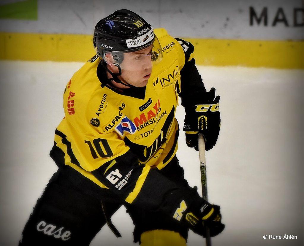 Markus Persson blir förhopppningsvis en länk i en ny riktigt vass förstakedja 17-18. FOTO: RUNE ÅHLÉN
