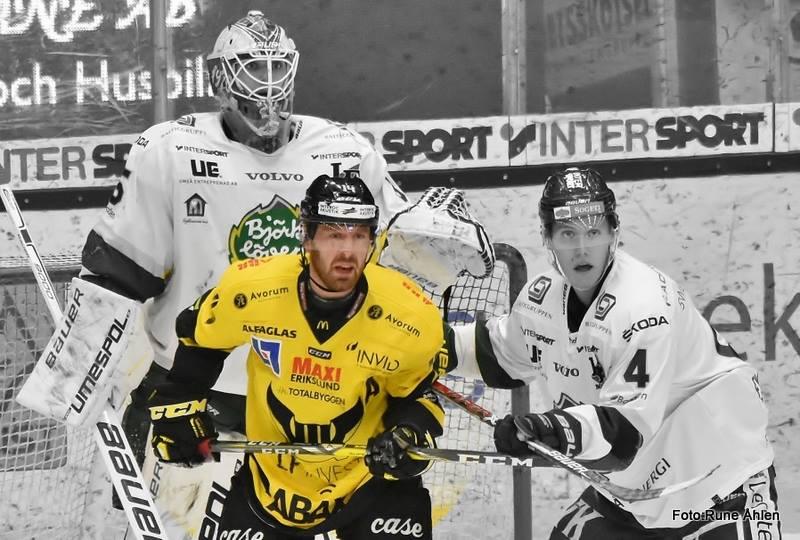 Alltid hårt kämpande Gråhns har gjort hela fem poäng på tre matcher mot Löven denna säsong. FOTO: RUNE ÅHLEN