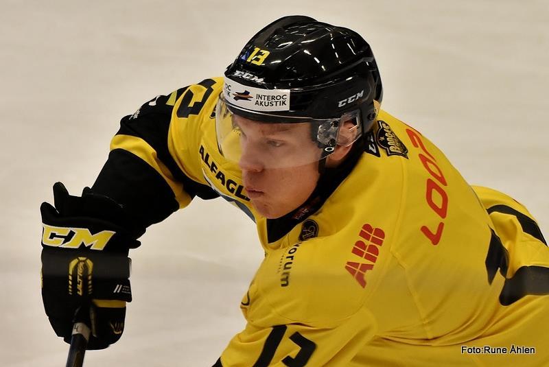 Albin Johansson har tillräckligt bra skridskoåkning för Allsvenskan. FOTO: RUNE ÅHLÉN