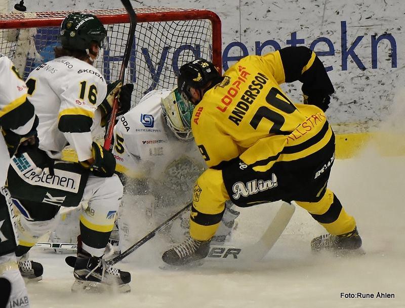 Jesper Andersson var ende center med äran i behåll i tekningscirklarna med 45 %. FOTO: RUNE ÅHLÉN