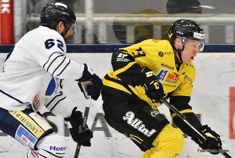 Albin Johansson gjorde en bra match och fick mycket förtroende i tredje. FOTO: RUNE ÅHLÉN
