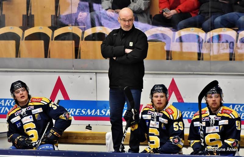 Mindre bistert efter kvalet för Mats Waltin? FOTO: Rune Åhlén